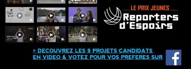 Prix Jeunes : VOTEZ !