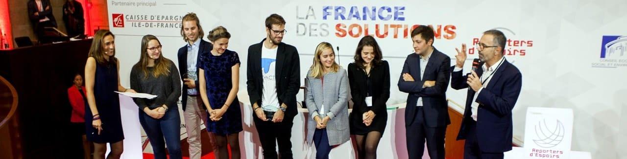 La France des solutions & la Caisse d'Epargne Ile-de-France lancent «Le Prix du Bicentenaire»