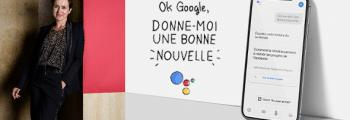 Reporters d'Espoirs crée l'appli « Donne-moi une bonne nouvelle » avec l'Assistant Google