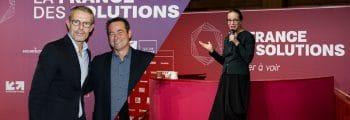 Lambert Wilson et Delphine Ernotte invités d'honneur de La France des solutions